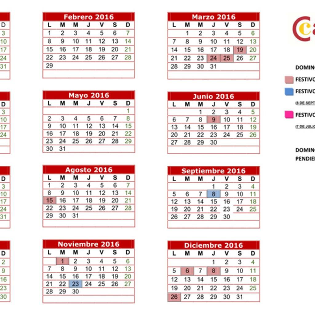 Calendario Laboral 2020 Murcia.Calendario Laboral Camara De Comercio E Industria De Lorca