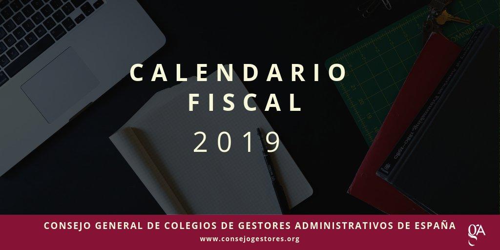 Calendario Fiscal 2019 Espana.Calendario Fiscal Para El Ano 2019 Del Ayuntamiento De Lorca